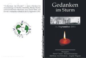 """Umschlag; Anthologie """"Gedanken im Sturm"""""""