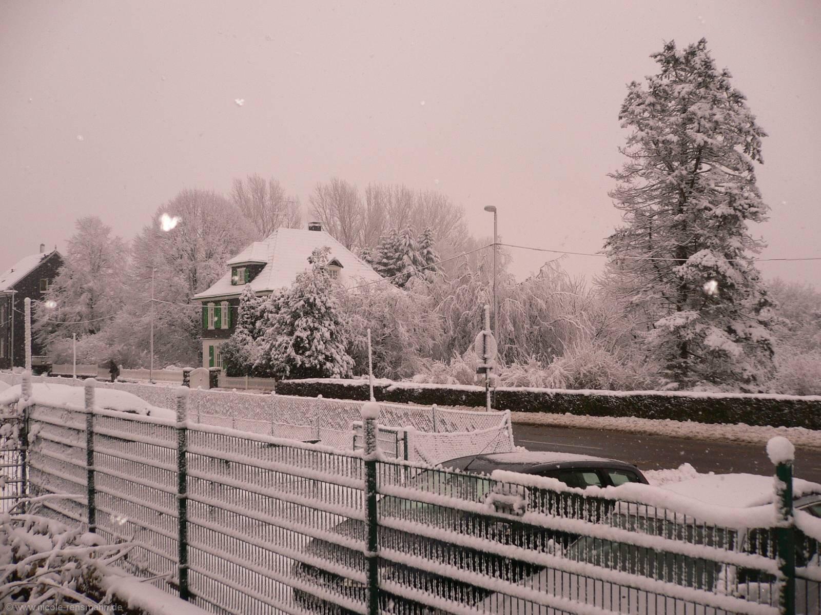 Schnee Remscheider Straße 2008
