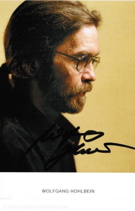 Autogramm: Wolfgang Hohlbein