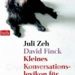 Cover: Kleines Konversationslexikon, Juli Zeh