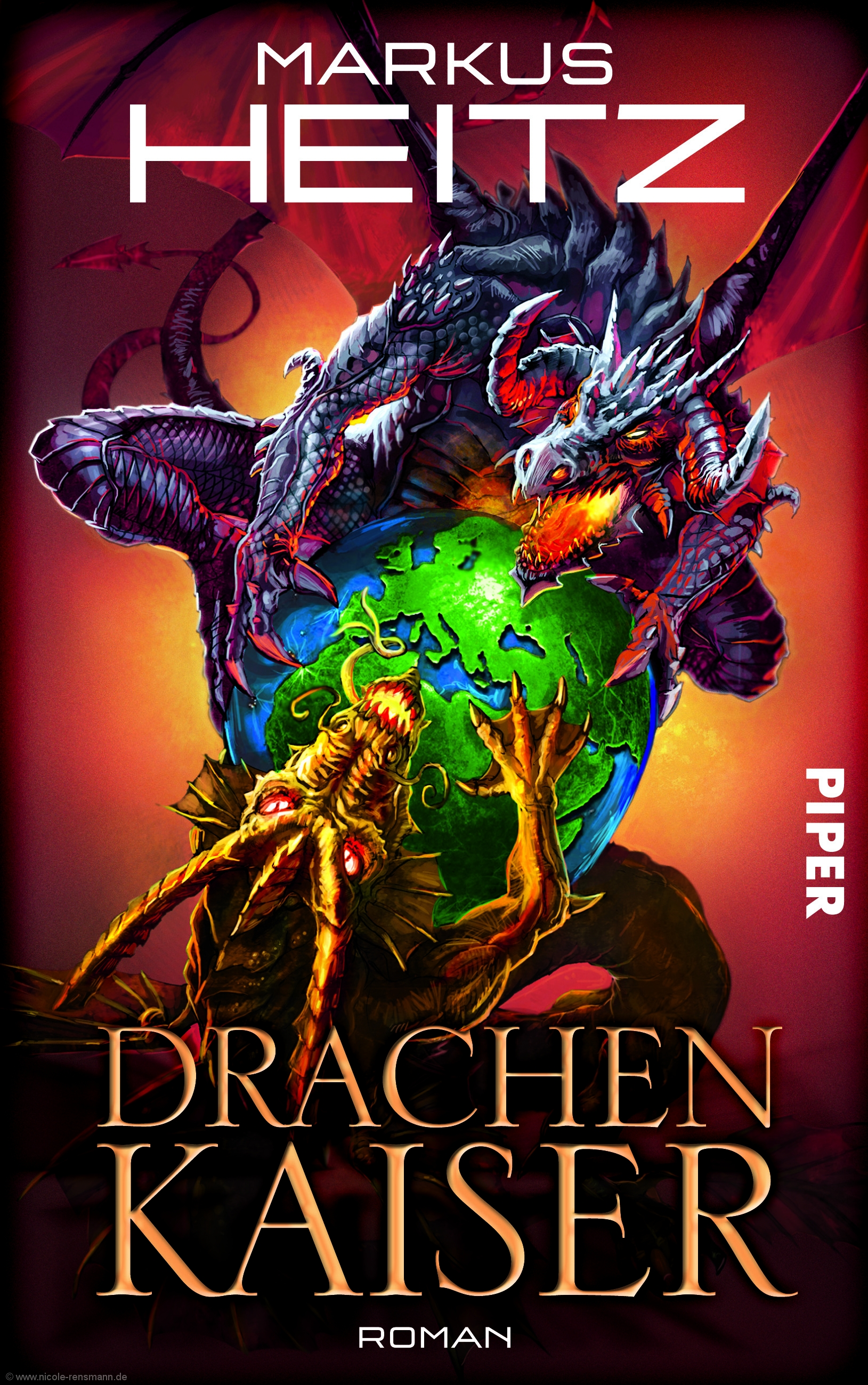 Cover, Markus Heitz: Drachenkaiser