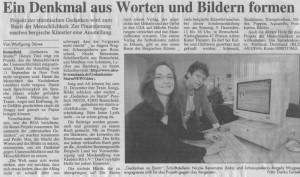 Angela Wagner mit Nicole Rensmann