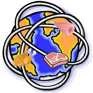 Ein Fleisch geht um die Welt