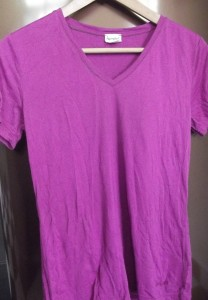 hessnatur-Shirt wirft nach dem Waschen ziemlich viele Falten.