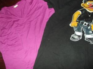 Im Knitter-Look:: Ernie und das Stärkste Shirt