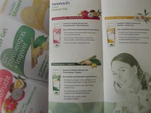 Herbacin Showergel wird in drei unterschiedlichen Sorten angeboten.