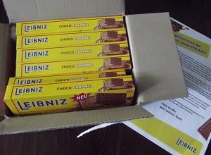 Wahnsinn: 6 x Leibniz Keks mit Choco-Caramel