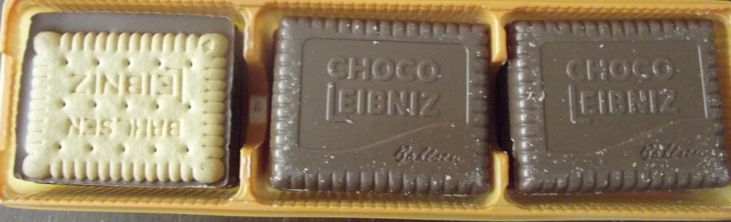3 x 3 Leibnizkeks Choco Caramel