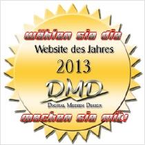 Button Beste Webseite 2013
