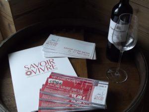 Auf zur SAVOIR-VIVRE-Messe 2014 nach Hamburg! Wein & Glas sind nur Dekoration ! ;-)