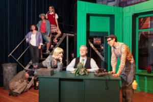 Szene aus dem Musical