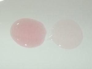 Neutrogena Visibly Clear Pink Grapefruit  - Links das Peeling, rechts das Waschgel.