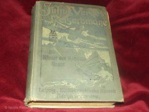 Julius Vernes Reiseromane - Die Kinder des Kapitän Grant, erschienen um 1900.