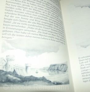 Einige Seiten sind mit Illustrationen von Manfred Häusler versehen.