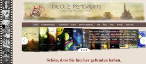 Die schmale Screenshot-Version meiner neuen Seite. Ich freu mich auf Besucher.