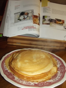Pfannkuchen - in vielen Größen für jeden und alles.