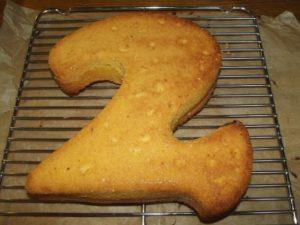 Die gebackene 2 - luftig und locker.