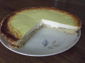 Birnen-Vanille-Tarte mit Quark