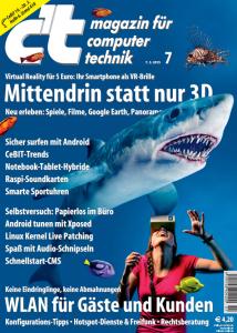 Cover: c't Ausgabe 7 / 2015